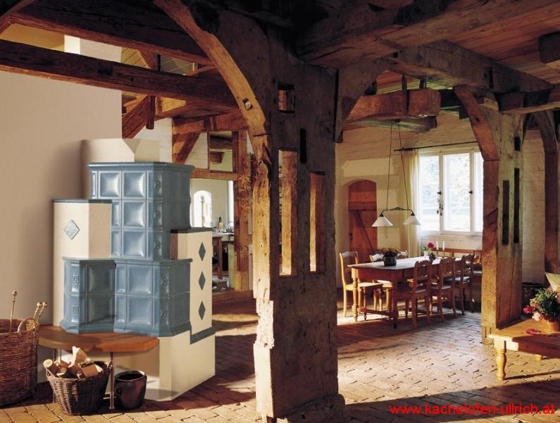 Kachelofen traditionell mit Sommerhuber Keramik Niederösterreich