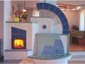 kachelofen mit sichtfenster ullrich kaufmannkeramik designkachelofen