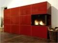 kachelofen modern rot großformatkacheln