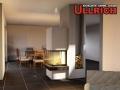 Dreiseitiger Kamin Spartherm Arte U 50 Gramatneusiedl